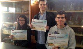 Jovem oliveirense representa região Centro nas Olimpíadas Portuguesas de Geologia