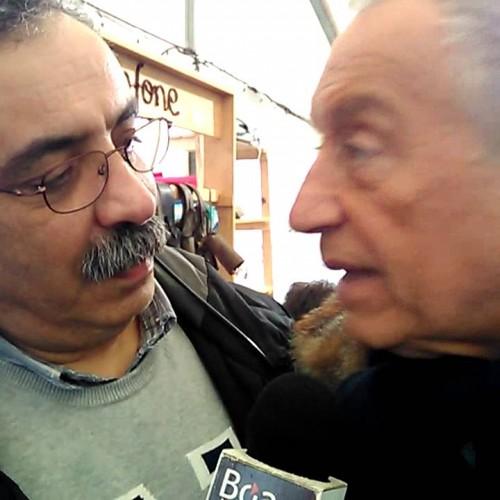 Marcelo Rebelo de Sousa em entrevista na Rádio Boa Nova