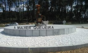 Foi inaugurado, em Ervedal da Beira, o monumento de homenagem à queijeira