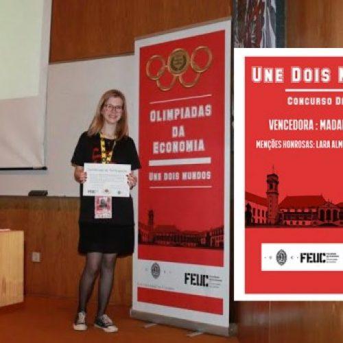 Aluna de Oliveira do Hospital venceu II Concurso de Jornalismo Olimpíadas da Economia