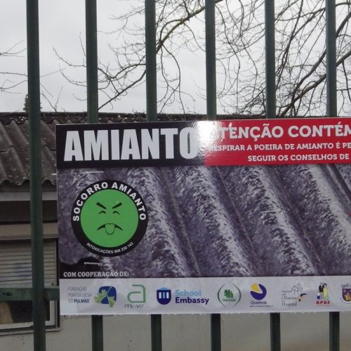 """Amianto mantém-se na escola de Oliveira do Hospital. Remoção """"vai ser uma realidade"""" (Com Vídeo)"""