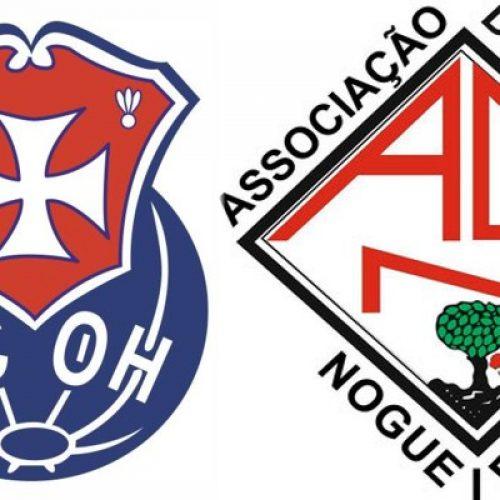 FCOH venceu e Nogueirense perdeu na 7ª jornada do Campeonato Nacional