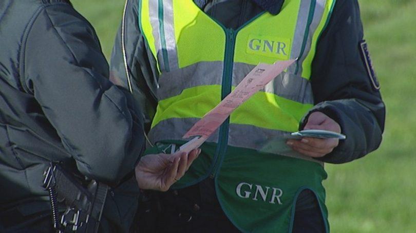 GNR deteve 110 pessoas em flagrante delito no fim de semana