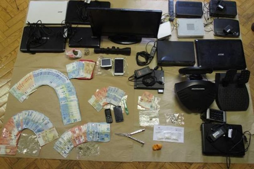 PJ deteve três suspeitos de tráfico de droga em Coimbra