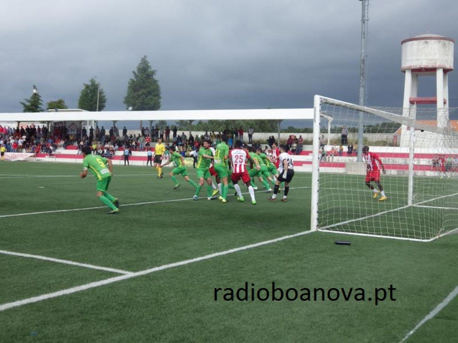Nogueirense consegue a manutenção no Campeonato de Portugal Prio ao vencer o Arões por 5-4, após grandes penalidades