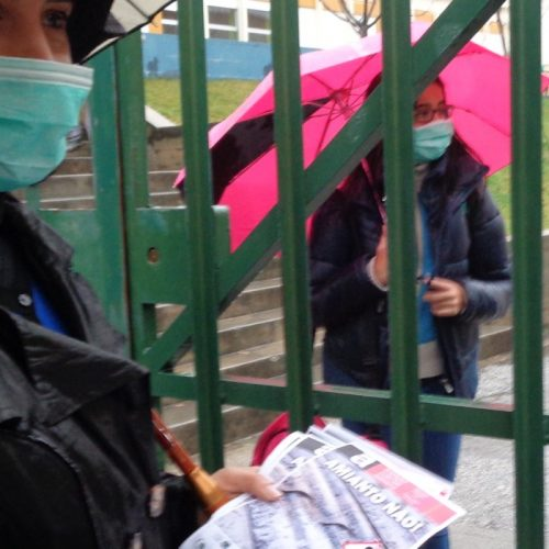 """Alexandrino """"assaca responsabilidades"""" ao Governo na retirada do amianto na escola oliveirense"""