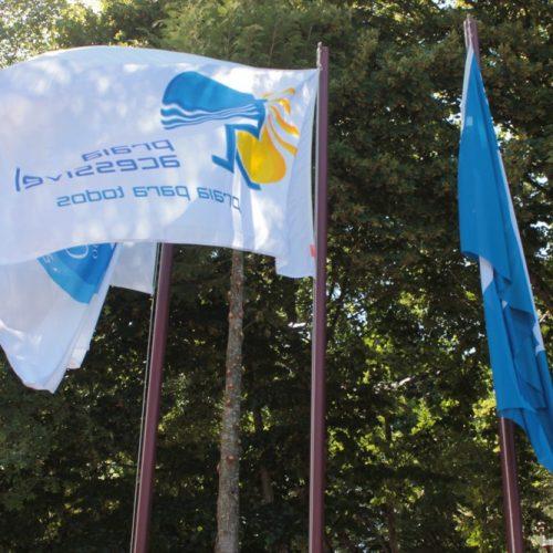 """Alvôco de Várzeas renova bandeira """"Azul"""" e """"Praia Acessível"""""""