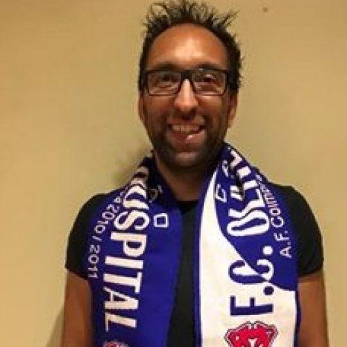 Cláudio Garcia é o novo técnico do FCOH