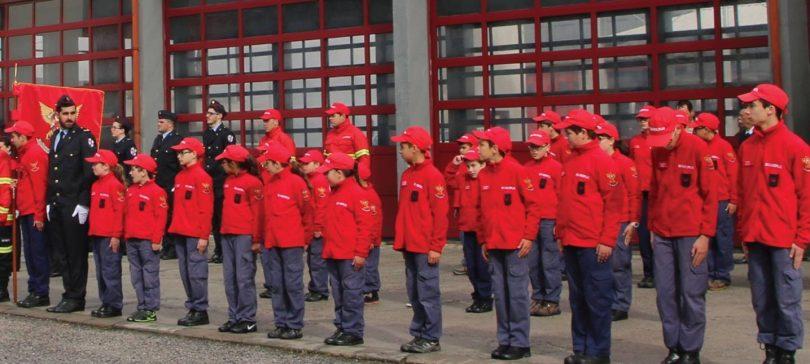 Escolinhas de Bombeiros do distrito encontram-se em Oliveira do Hospital