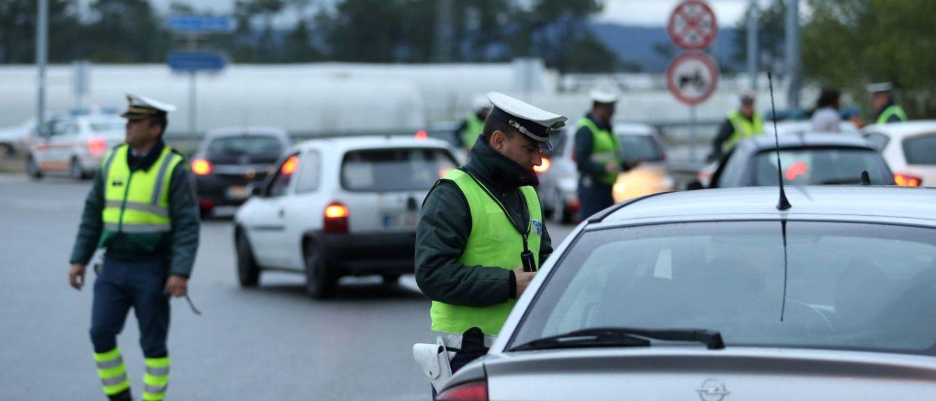 """Operação """"Páscoa"""": 4 908 infrações, 764 acidentes e 163 detenções até ao momento"""