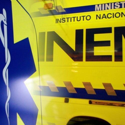 Carro de rali caiu ao rio em Mortágua. Um dos ocupantes está desaparecido.