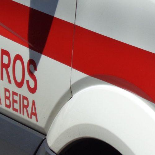 Jovem sofreu traumatismo em atropelamento em Lagares da Beira