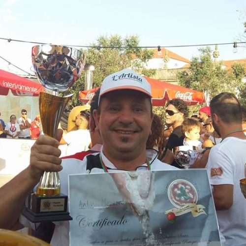 Casimiro Santos integra seleção nacional de Pizzaiolos