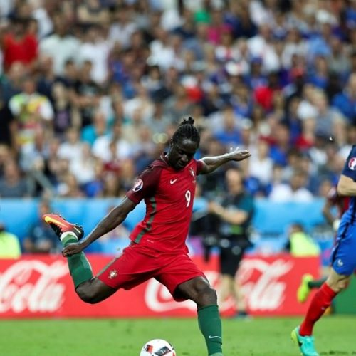 Éder, autor do golo de Portugal na final do Europeu contra a França, jogou no FCOH