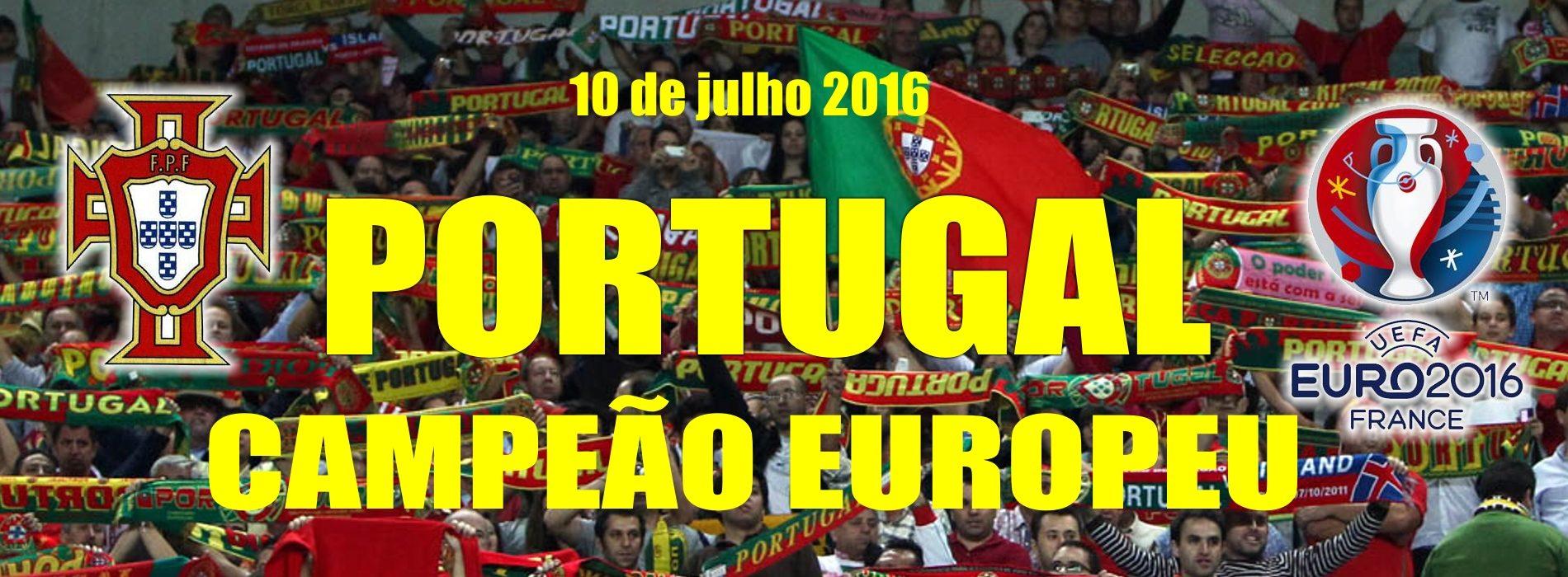 Portugal é Campeão Europeu depois de vencer a França por 1-0