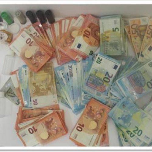 PJ de Coimbra detém quatro suspeitos de tráfico de drogas