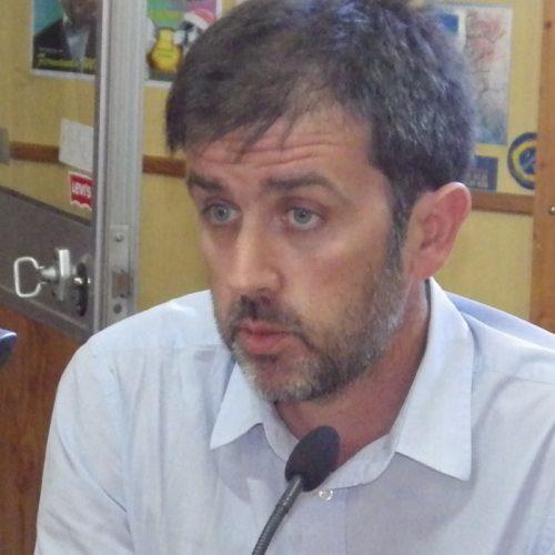 Carlos Veiga, presidente da ESTGOH, em entrevista na Rádio Boa Nova