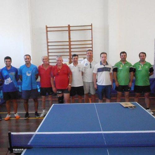 O Clube de Caça e Pesca de Oliveira do Hospital (CCPOH) realizou a apresentação oficial da equipa sénior de ténis de mesa