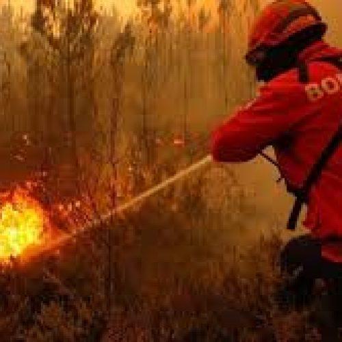 Bombeiros apagam fogo e encontram corpo carbonizado em Castelo de Penalva