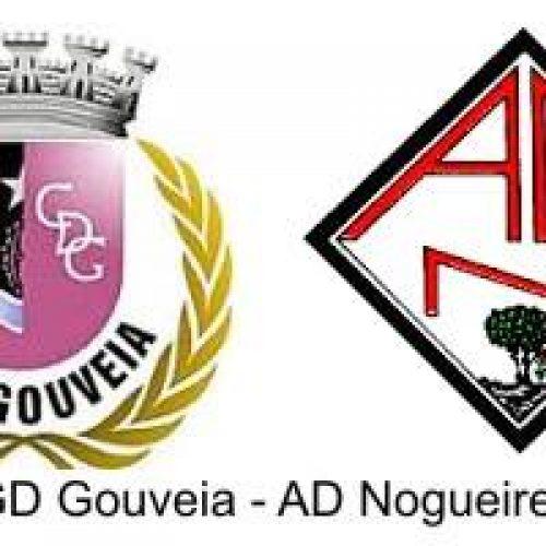 Nogueirense derrotado em Gouveia por 1-0