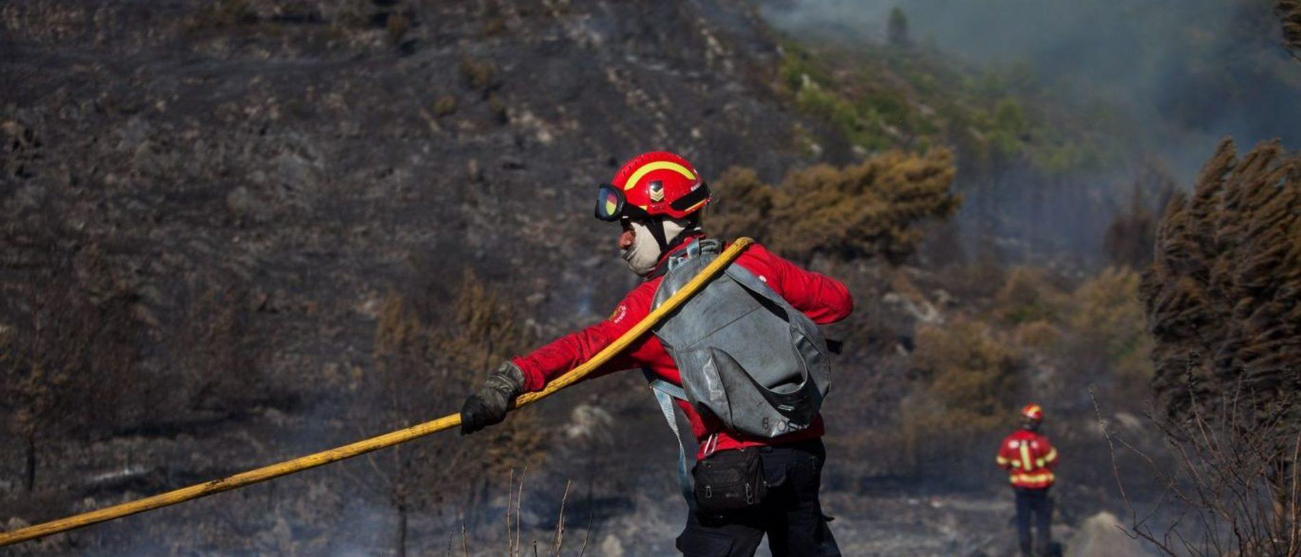 Risco máximo de incêndio em cerca de 50 concelhos