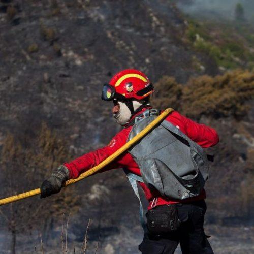 Mais de 170 homens combatem chamas em Águeda