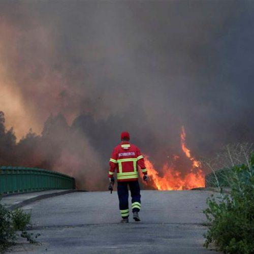IP5 cortado em Viseu desde as 8h00 devido a incêndio