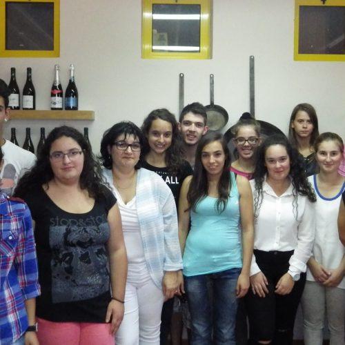 Turma de restauração leva gastronomia portuguesa ao colégio Gerrit Komrij, na Holanda