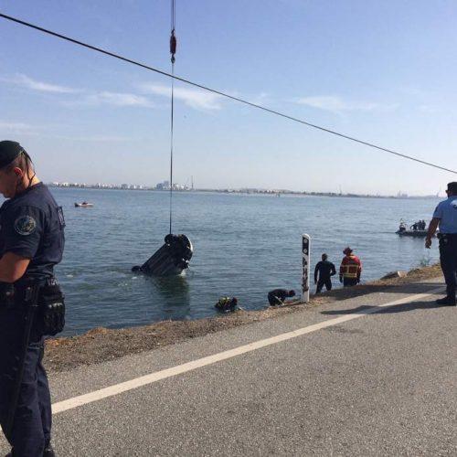 Casal morreu após queda de viatura na ria de Aveiro