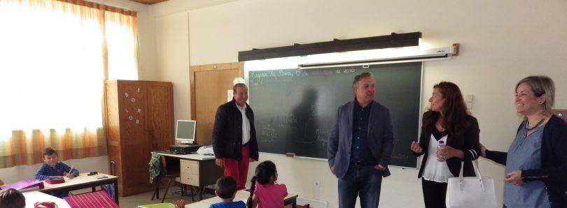 Alexandrino garante que amianto vai ser retirado da escola de Oliveira do Hospital