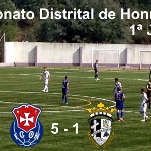 FCOH começa o Distrital de Hora da AFC com uma goleada de 5-1
