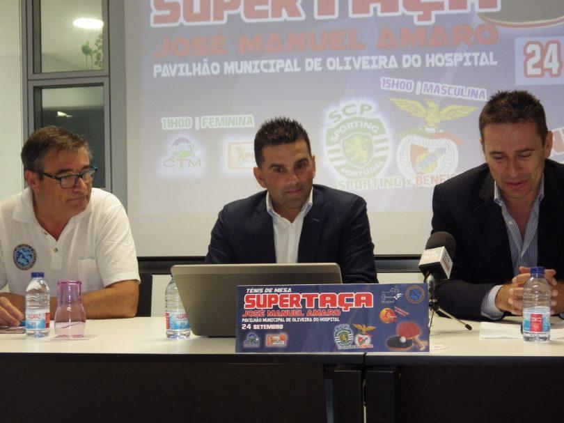 Ténis de Mesa: Sporting e Benfica disputam Supertaça em Oliveira do Hospital