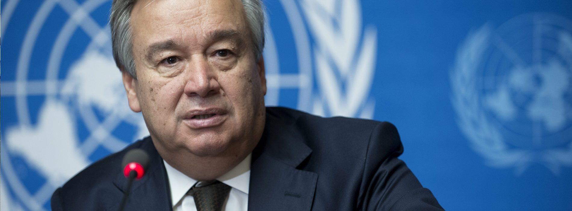 Guterres foi oficialmente aclamado secretário-geral da ONU