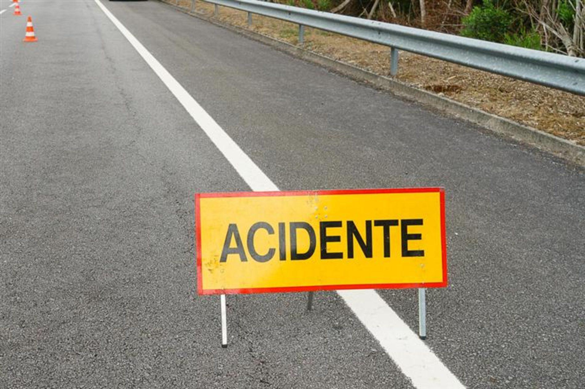 Acidente na A25 causa dois feridos, um é grave
