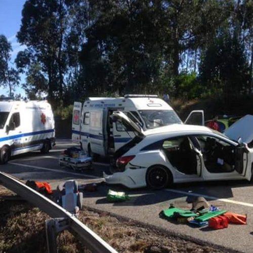 IP3 reabre ao trânsito após acidente mortal na zona de Tondela