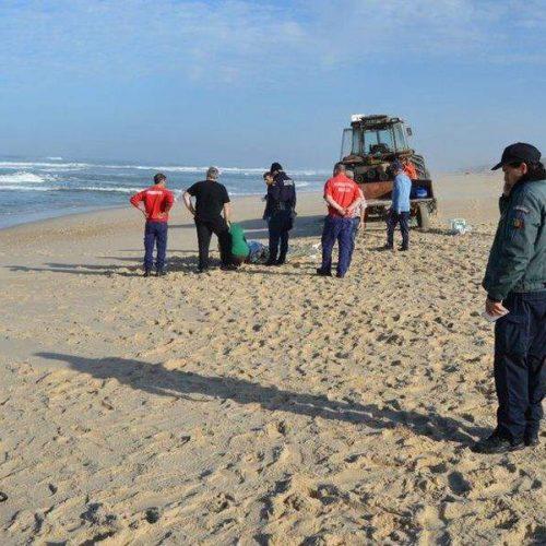 Inglês morreu em ida ao mar na praia de Mira