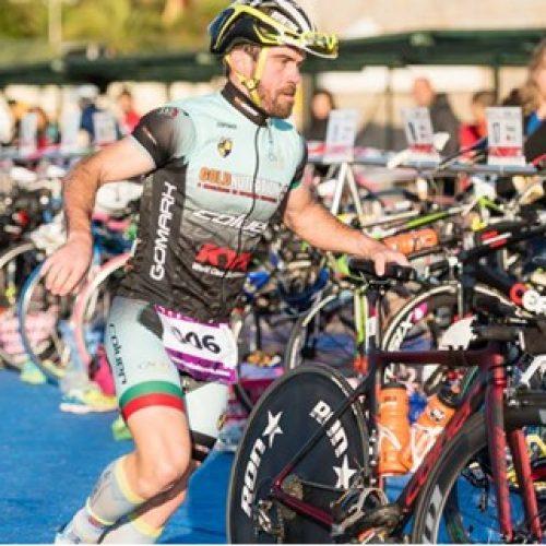 Rafael Delaunay Gomes conseguiu 4º Lugar da Geral no Campeonato Nacional Individual de Triatlo Longo