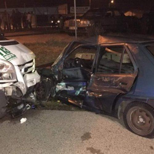 Região: Casal de septuagenários ficou gravemente ferido em colisão