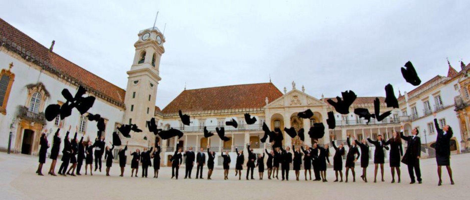 Universidade de Coimbra suspende aulas presenciais até ao final do ano