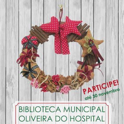 """Exposição coletiva """"Coroas de Natal"""" em Oliveira do Hospital"""