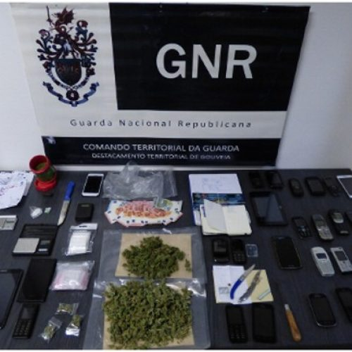 Quatro detidos por tráfico de estupefacientes em Gouveia