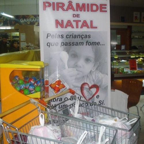 Oliveira do Hospital promove mais uma Pirâmide de Natal Solidário