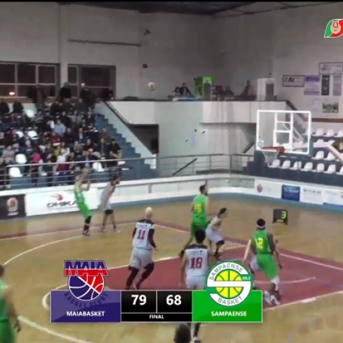 Sampaense Basket perde no Maia Basket por 79-68