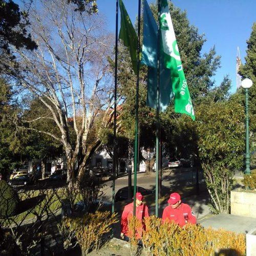 Bandeira ECO XXI hasteada hoje em Oliveira do Hospital