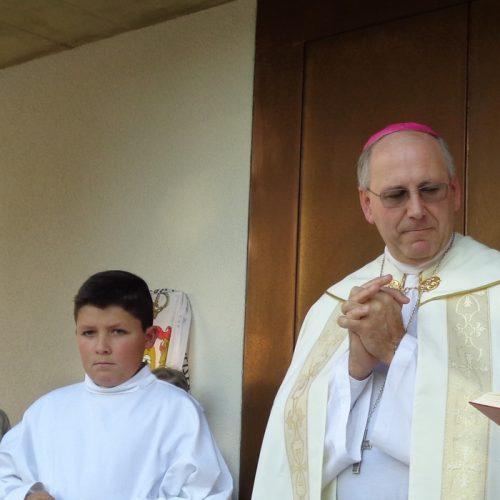 Bispo de Coimbra abençoou capela de Nª Srª da Visitação em Galizes