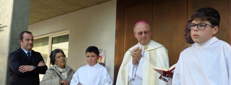 Misericórdia de Galizes encerra comemorações e lança primeira pedra do CAT para a deficiência
