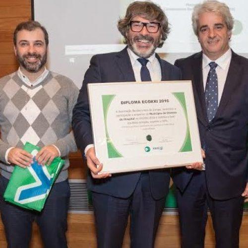 Município de Oliveira do Hospital conquista galardão ECOXXI 2016