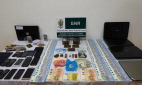 Região: GNR deteve dez pessoas na posse de mais de cinco mil doses de haxixe