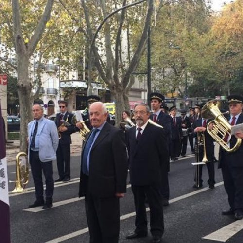 """Filarmónica Sangianense participou no 5º Desfile Nacional de Bandas Filarmónicas """"1º de Dezembro"""" em Lisboa"""