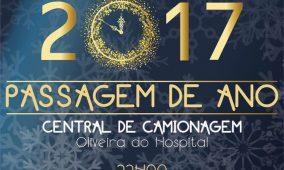 Oliveira do Hospital festeja passagem de ano com espectáculos musicais e fogo-de-artifício na Central de Camionagem
